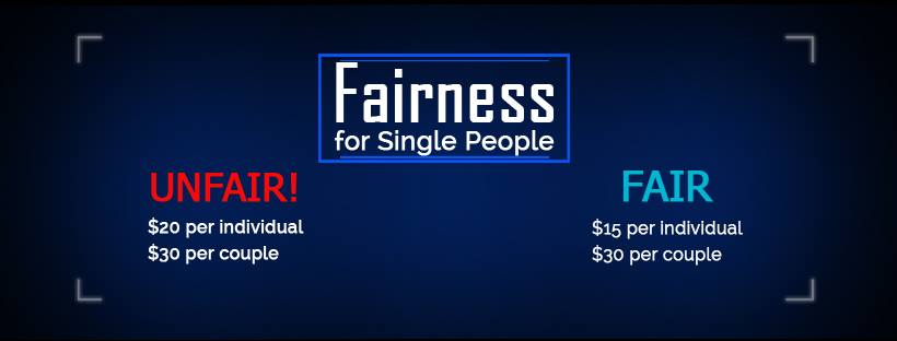 fairness for single people living alone website