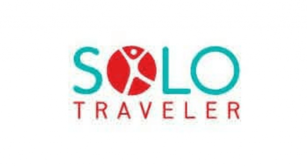 solo traveler world logo for living alone website