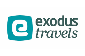 exodus travel logo for living alone website