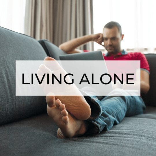 how to live alone resources page