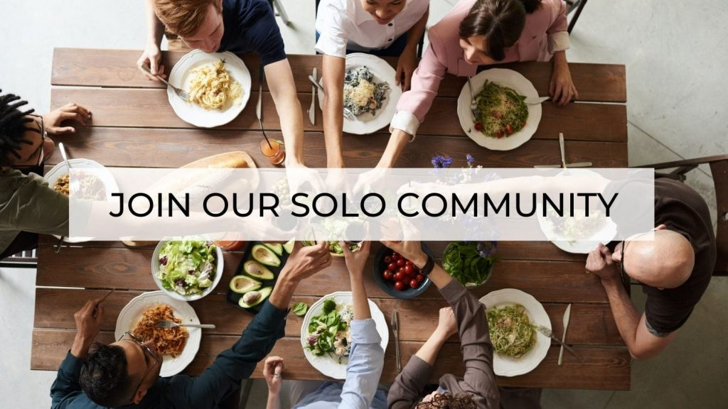 join our solo community for living alone home page