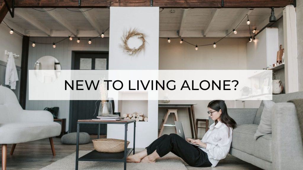 new to living alone image for homepage